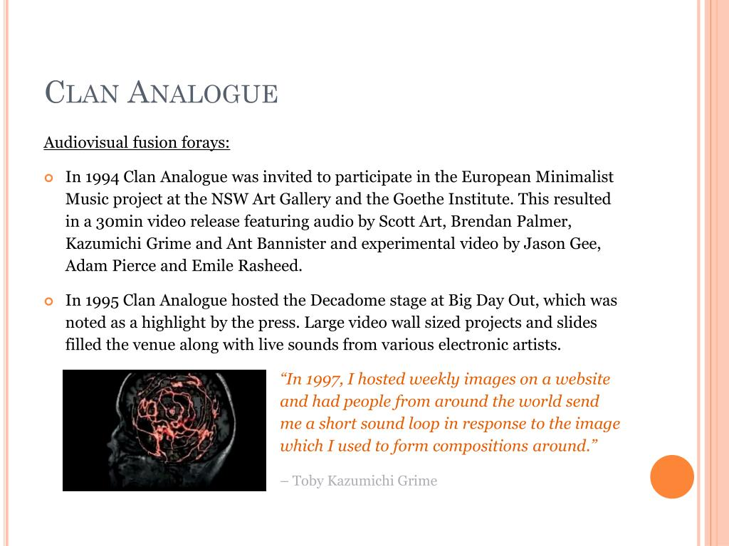 Clan Analogue