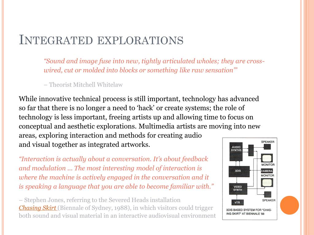 Integrated explorations