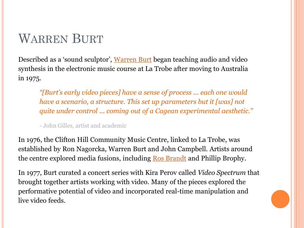 Warren Burt
