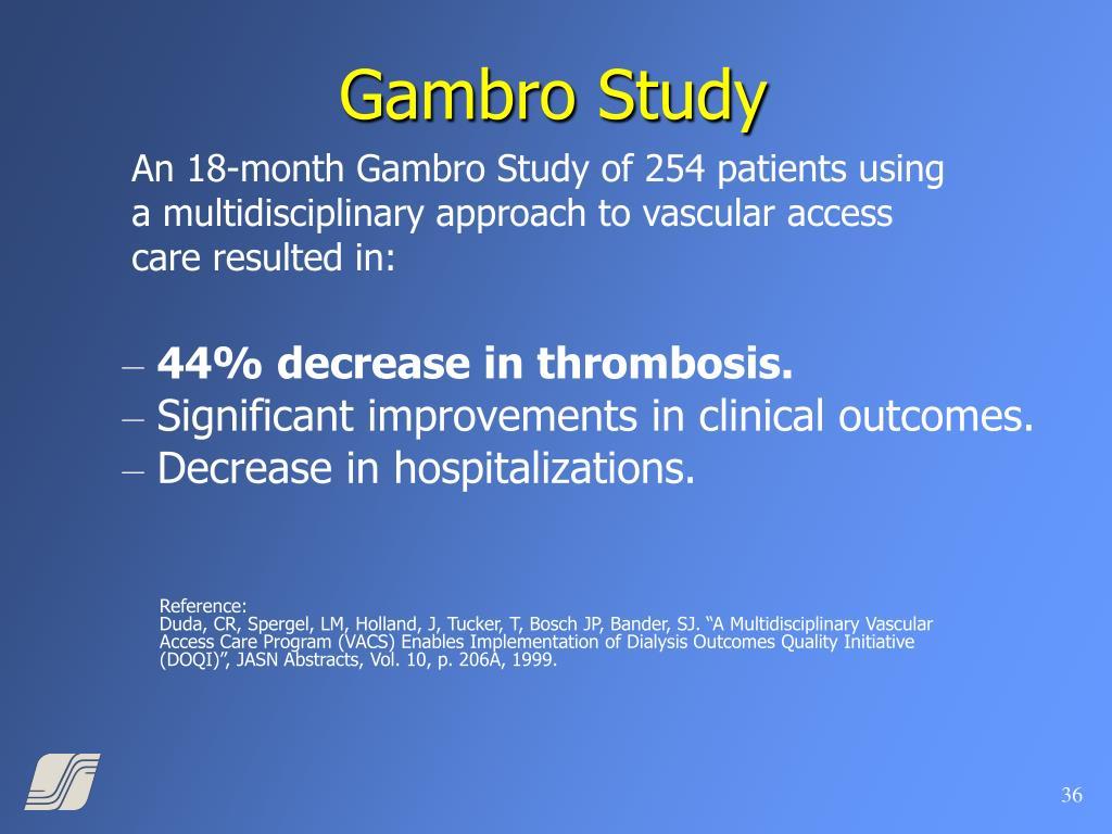 Gambro Study