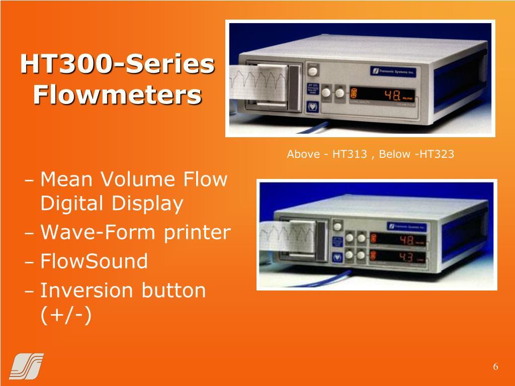 HT300-Series Flowmeters