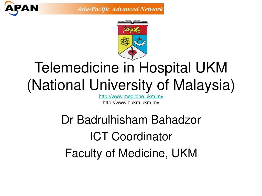 Telemedicine in Hospital UKM
