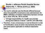 boutte v jefferson parish hospital service district no 1 759 so 2d 45 la 2000