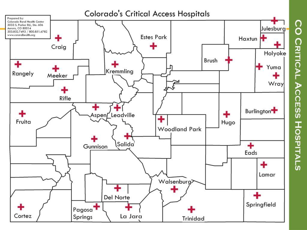 CO Critical Access Hospitals