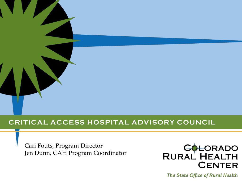Critical Access Hospital Advisory Council