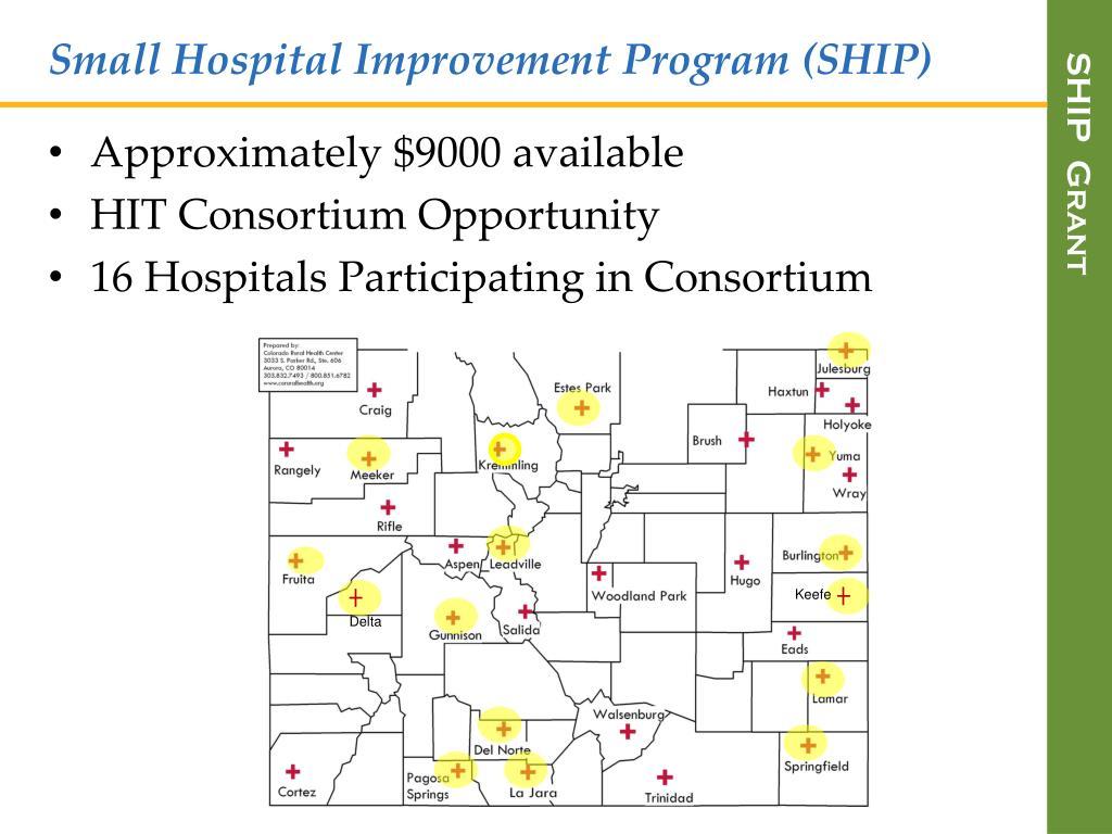Small Hospital Improvement Program (SHIP)