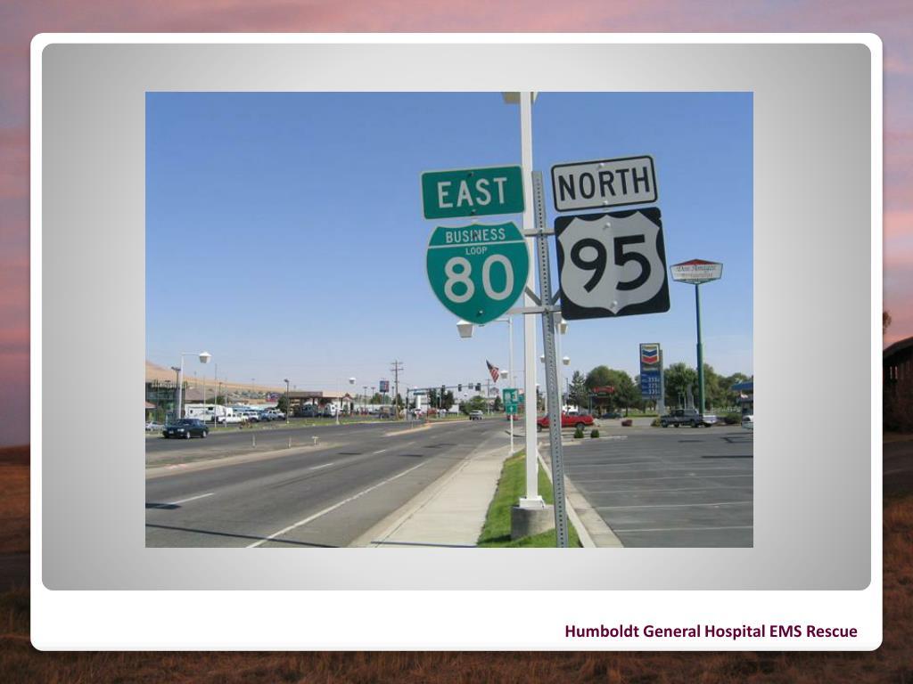 Humboldt General Hospital EMS Rescue