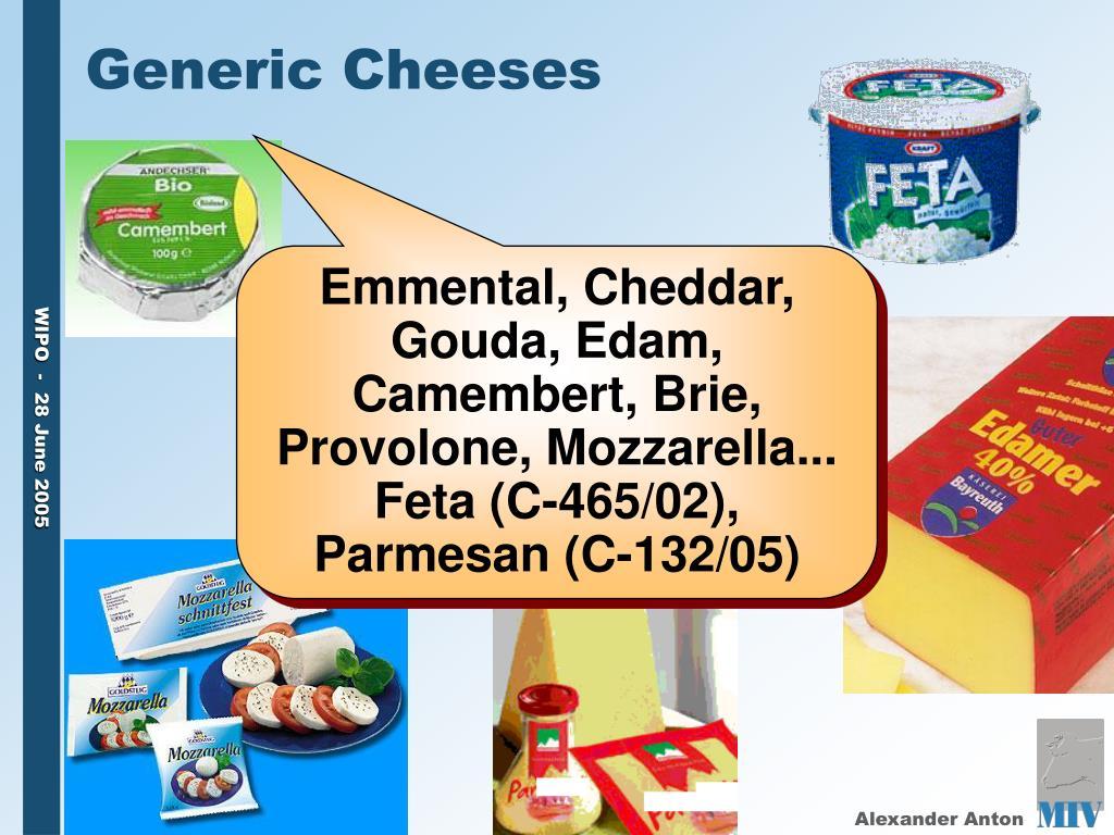 Generic Cheeses
