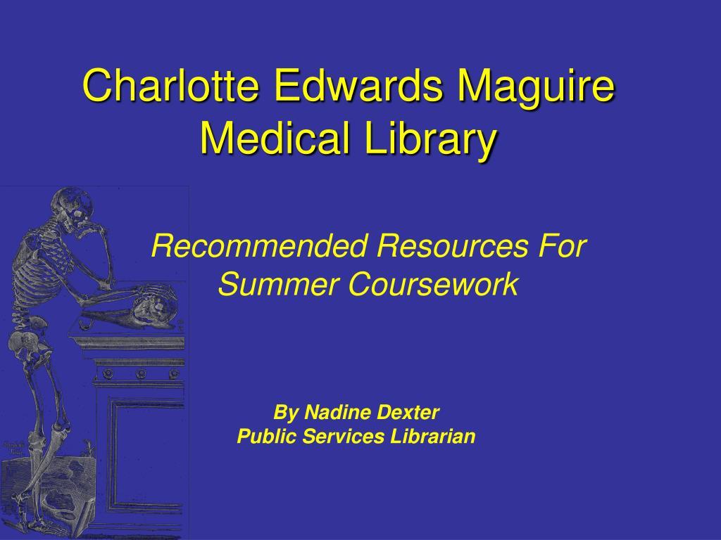 Charlotte Edwards Maguire