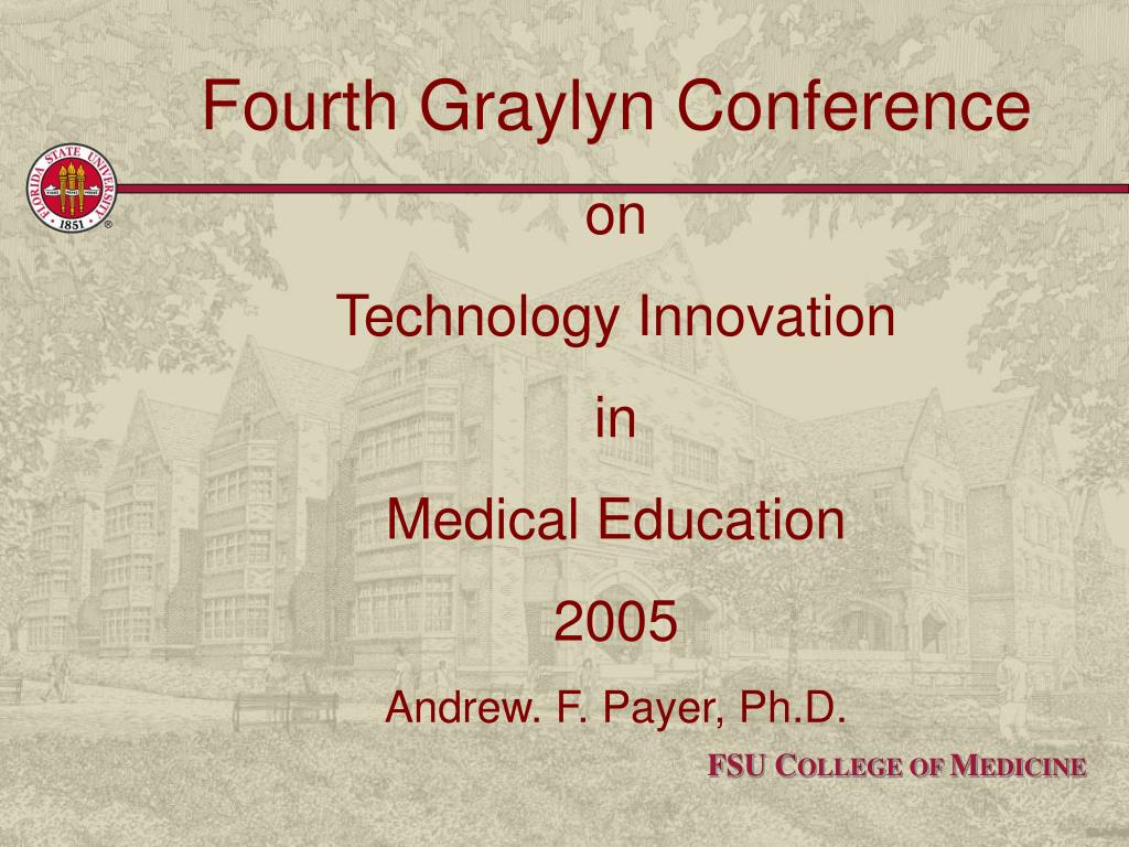 Fourth Graylyn Conference