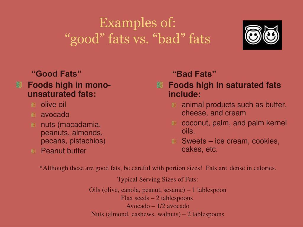 """""""Good Fats"""""""