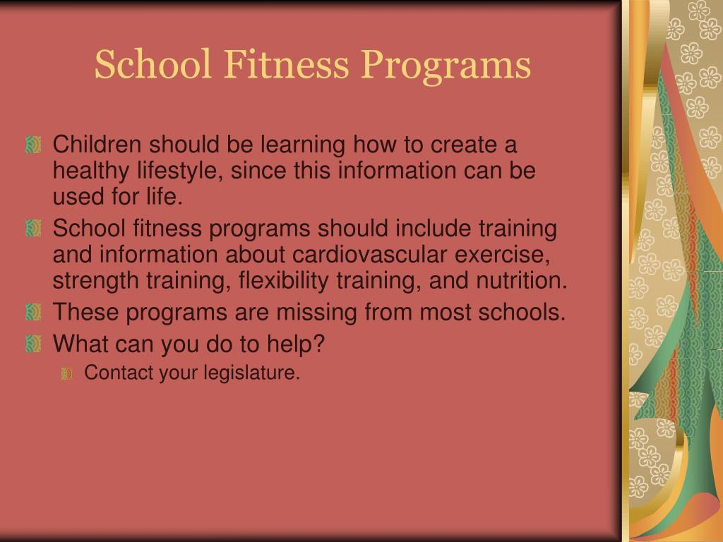 School Fitness Programs