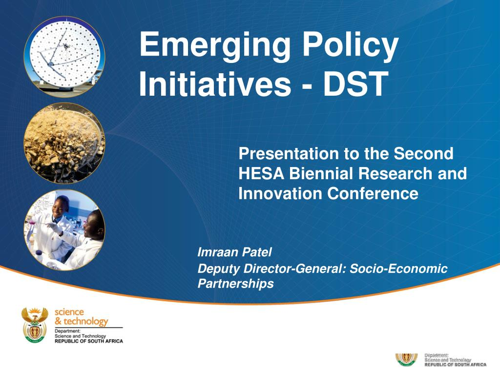 Presentation to the Second HESA Biennial Research and Innovation Conference