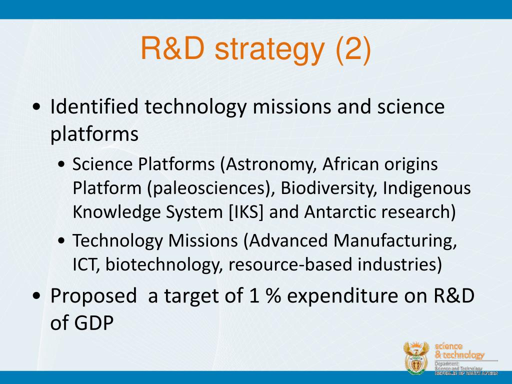 R&D strategy (2)