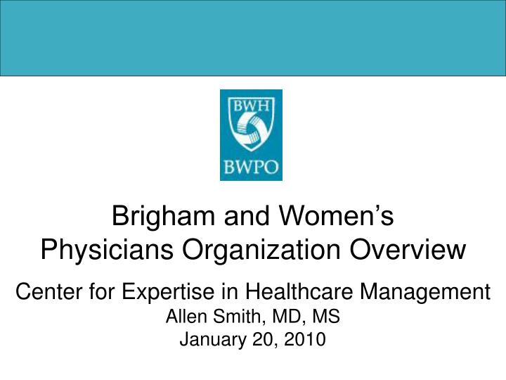 Brigham and Women's
