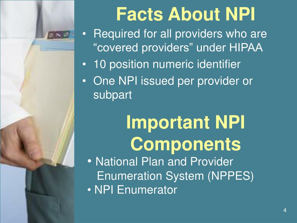Facts About NPI