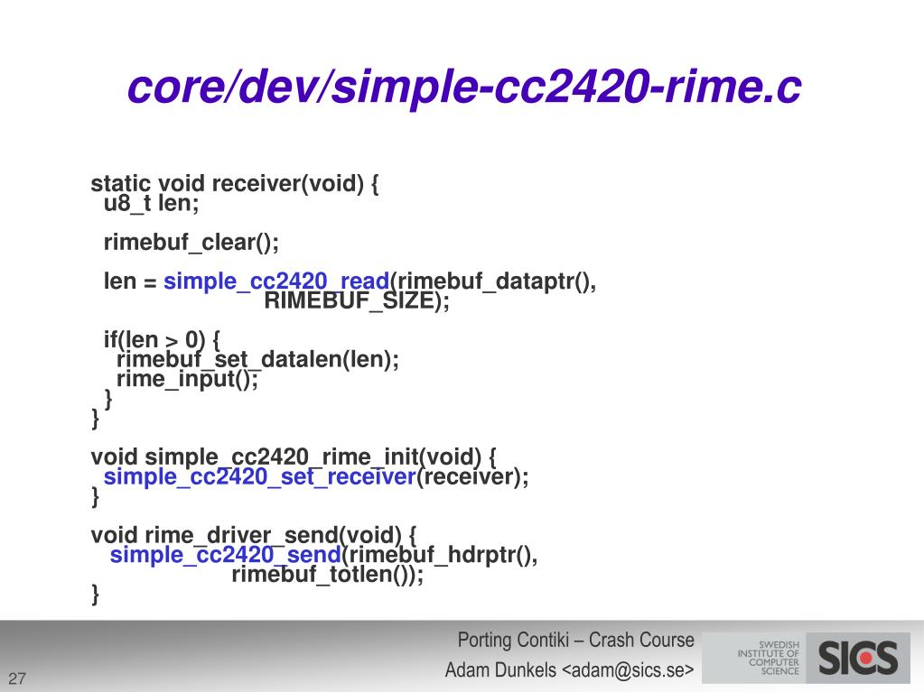 core/dev/simple-cc2420-rime.c