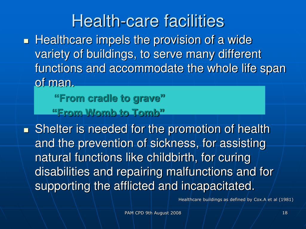 Health-care facilities