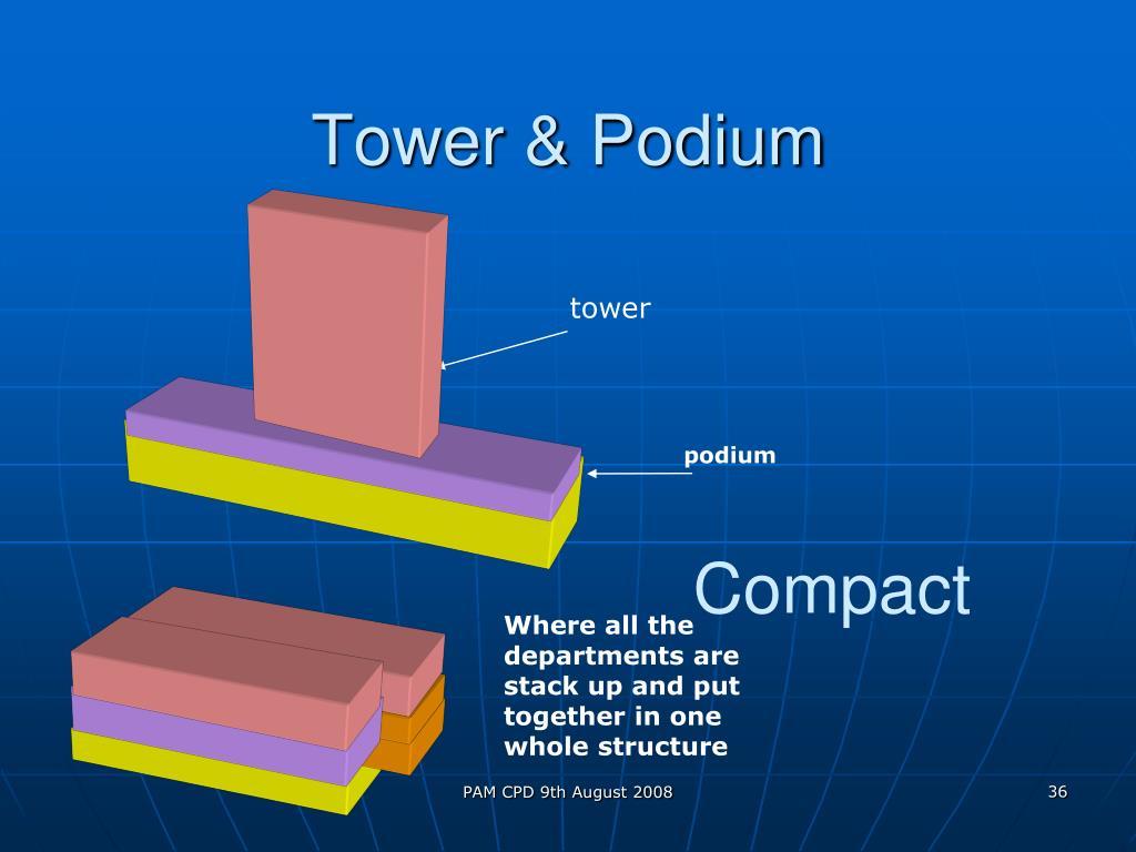 Tower & Podium