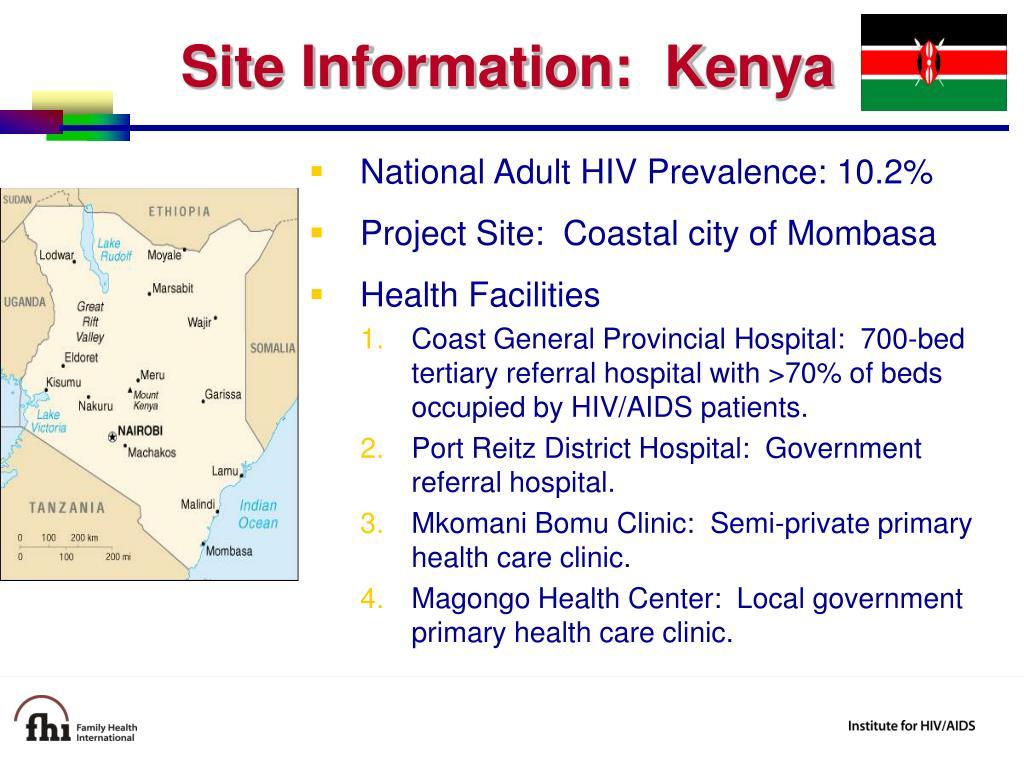Site Information:  Kenya