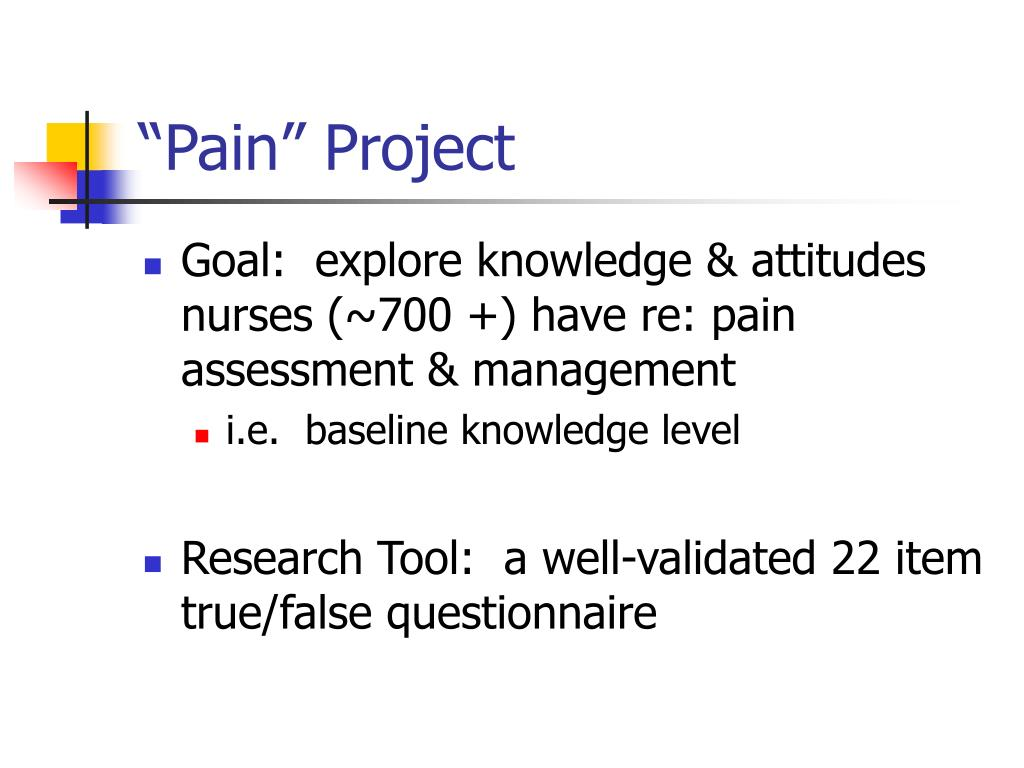"""""""Pain"""" Project"""