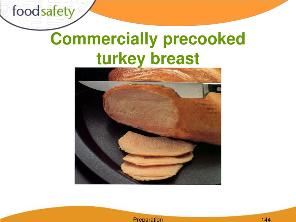 Commercially precooked