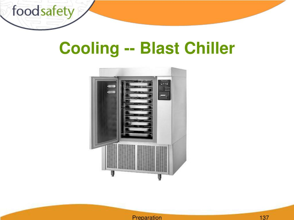 Cooling -- Blast Chiller