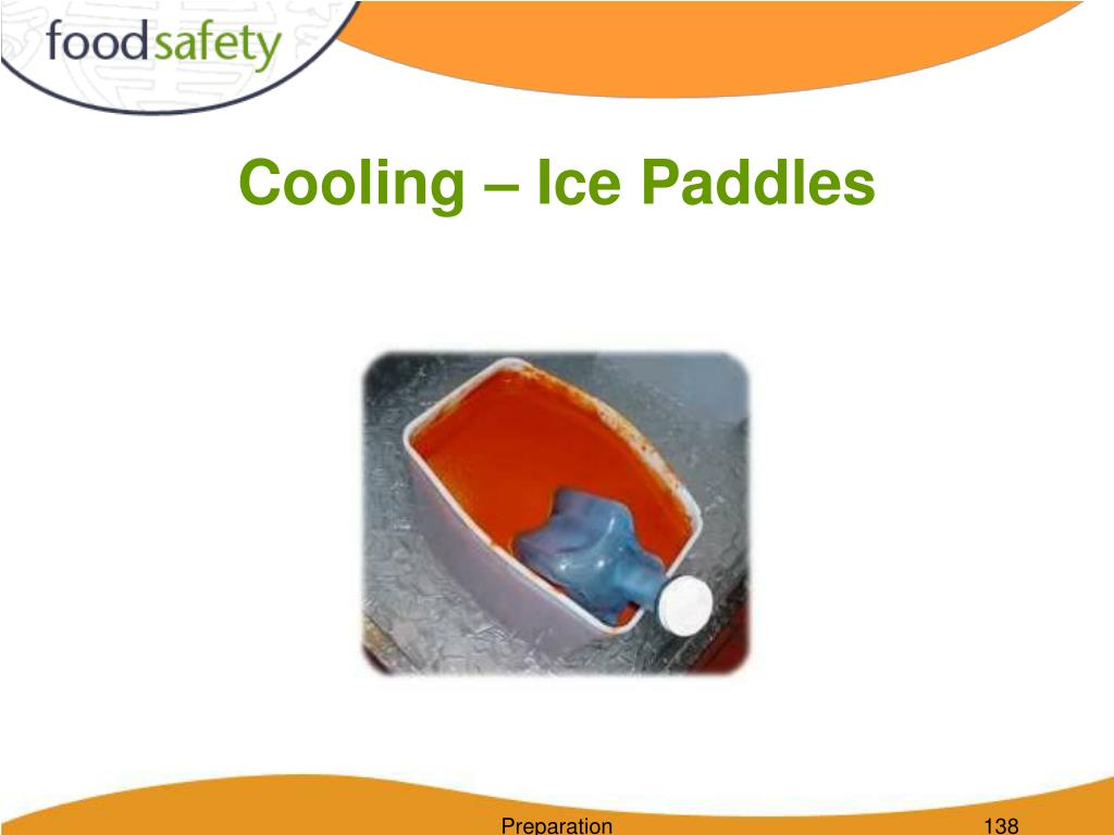 Cooling – Ice Paddles
