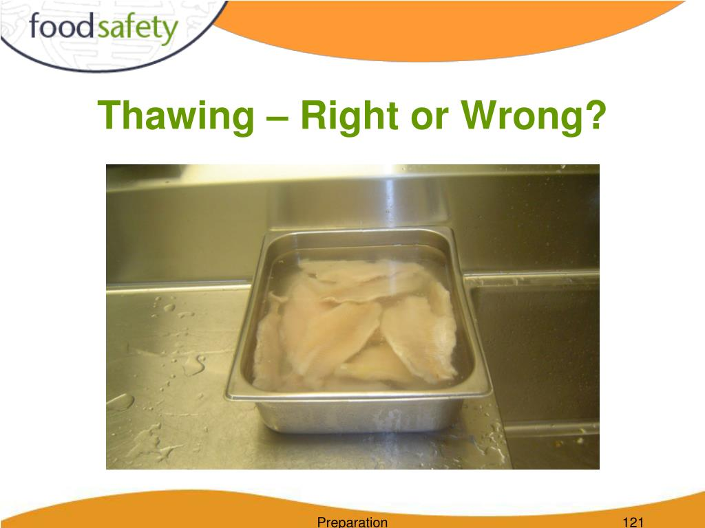 Thawing – Right or Wrong?