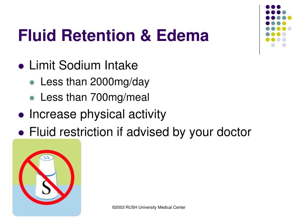 Fluid Retention & Edema