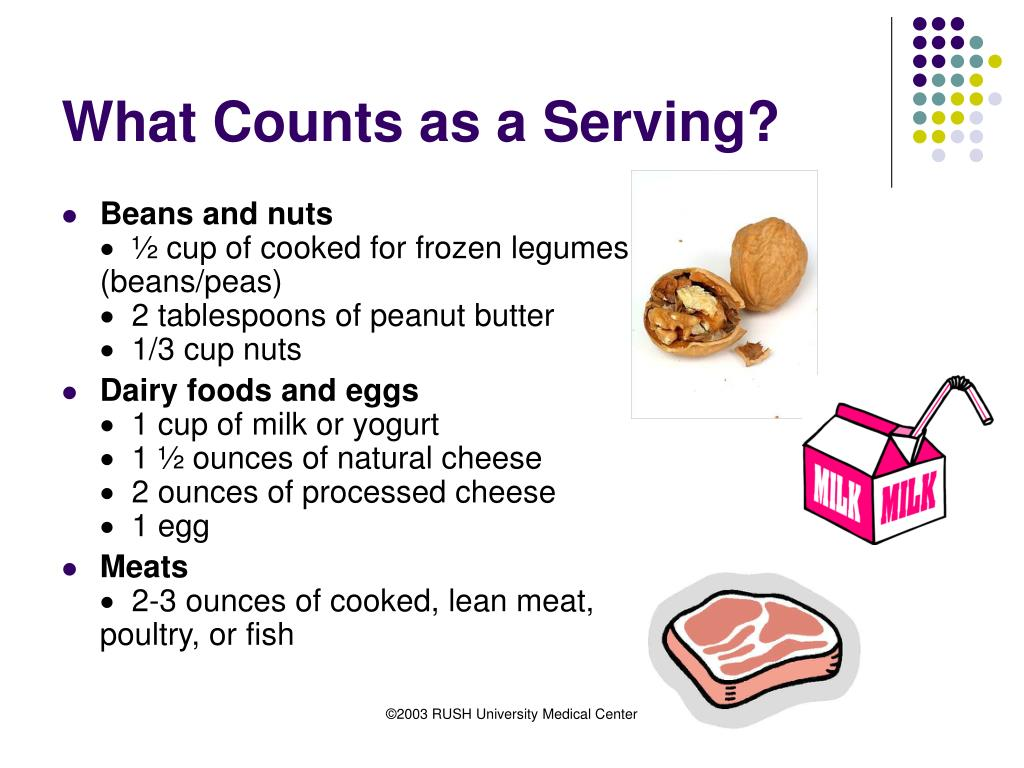 What Counts as a Serving?