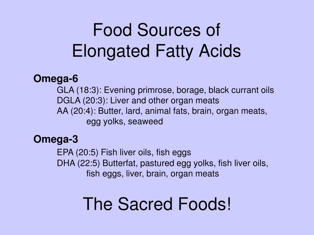 Food Sources of