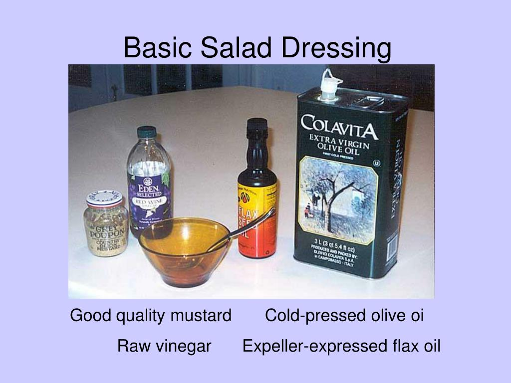 Salad Dressing 1