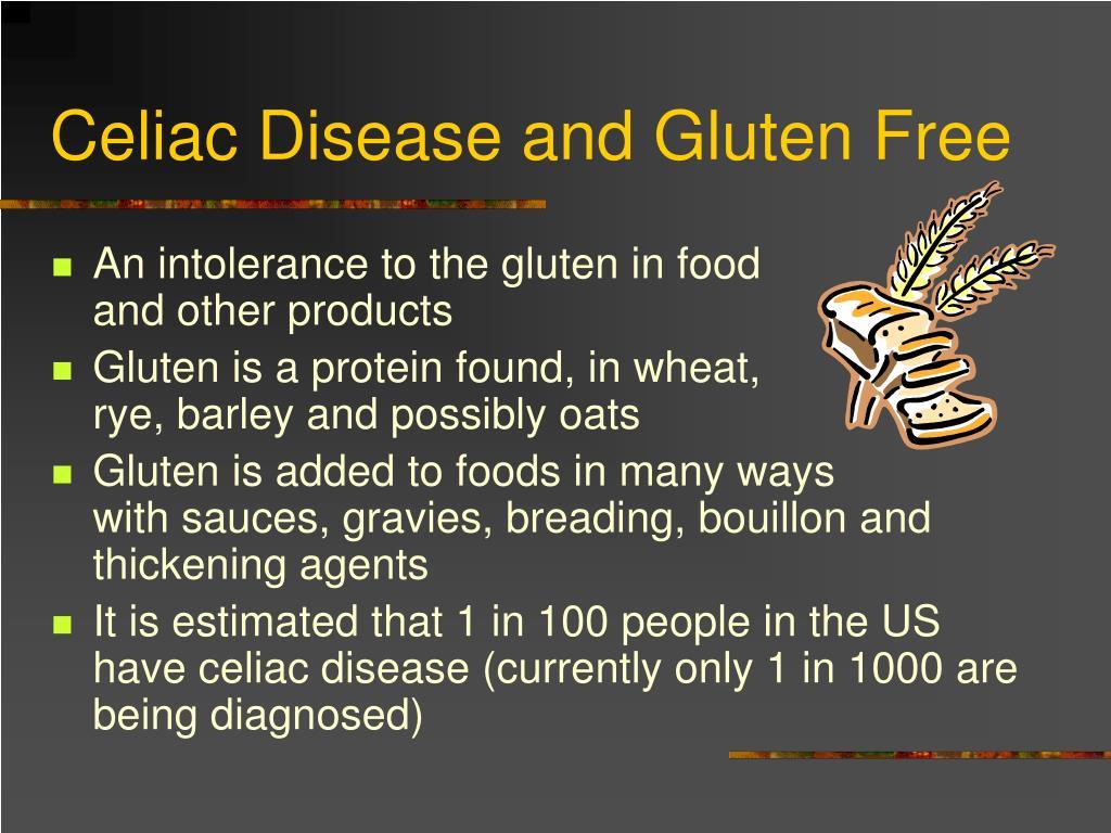 Celiac Disease and Gluten Free