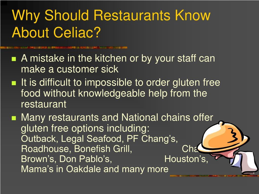 Why Should Restaurants Know About Celiac?