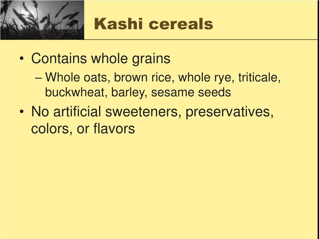 Kashi cereals