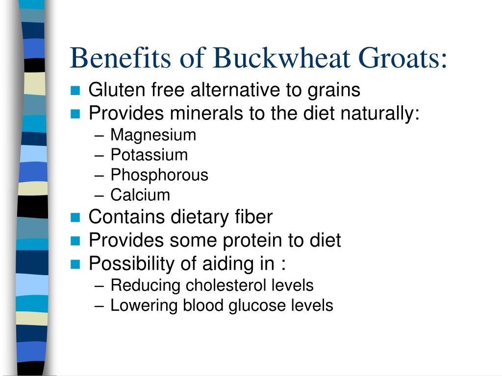 Benefits of Buckwheat Groats: