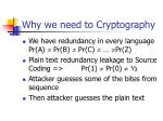 why we need to cryptography