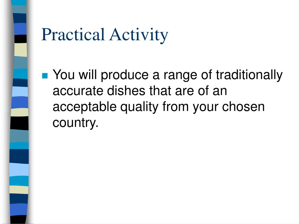 Practical Activity