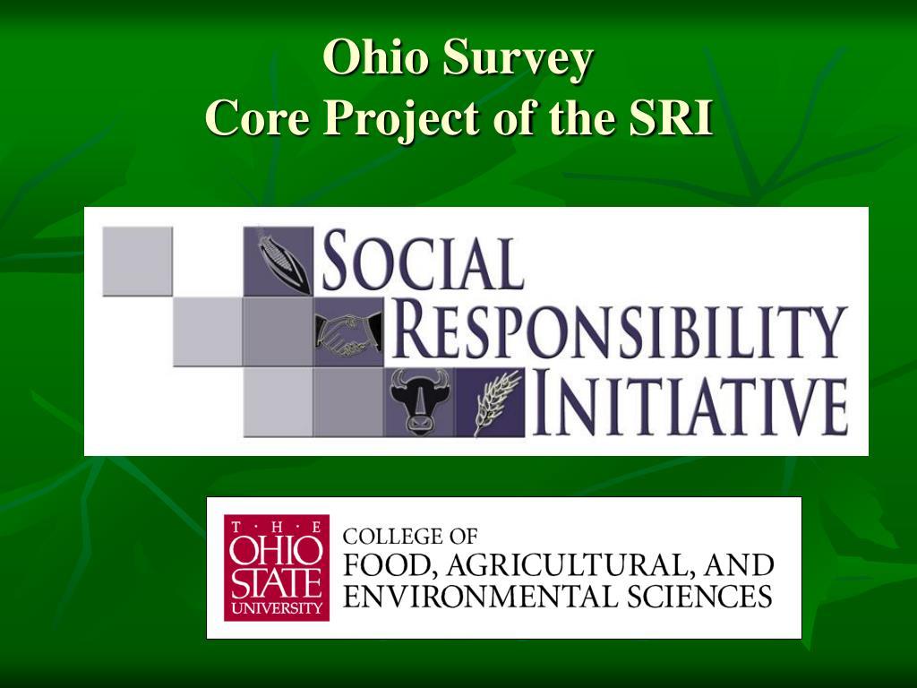 Ohio Survey