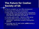 the future for coeliac society of sa