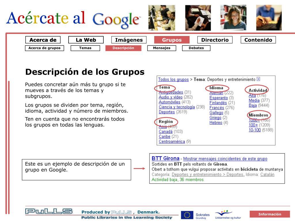 Grupper Emner 2 gruppe beskrivelse