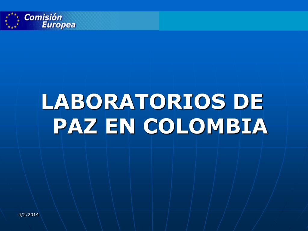 LABORATORIOS DE PAZ EN COLOMBIA