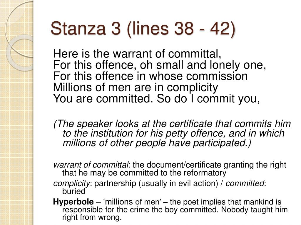 Stanza 3 (lines 38 - 42)