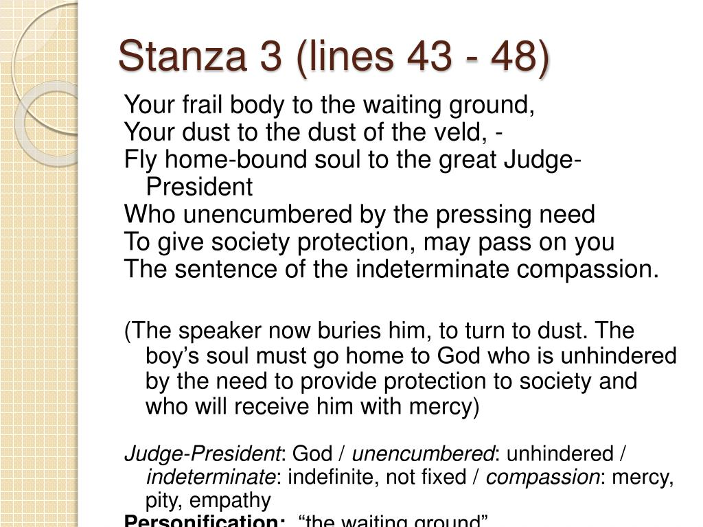 Stanza 3 (lines 43 - 48)