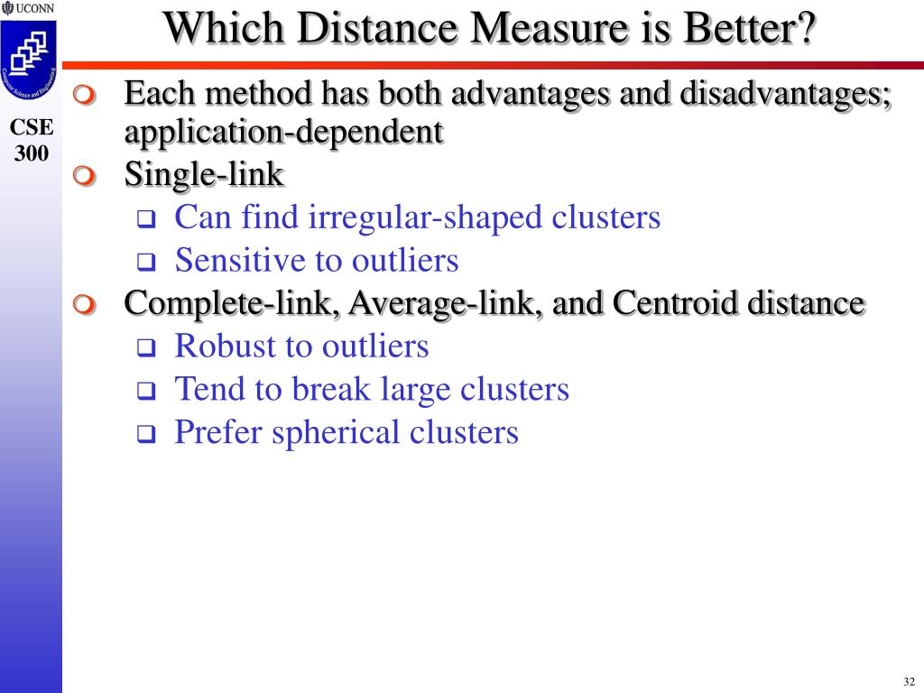 Which Distance Measure is Better?