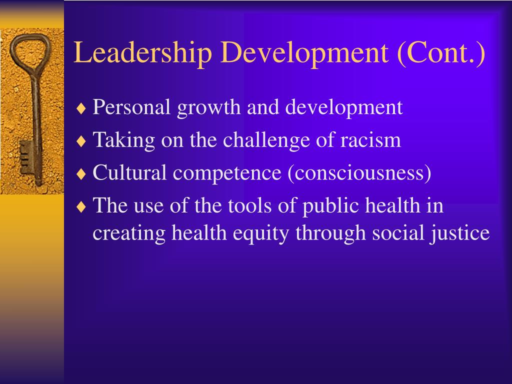 Leadership Development (Cont.)