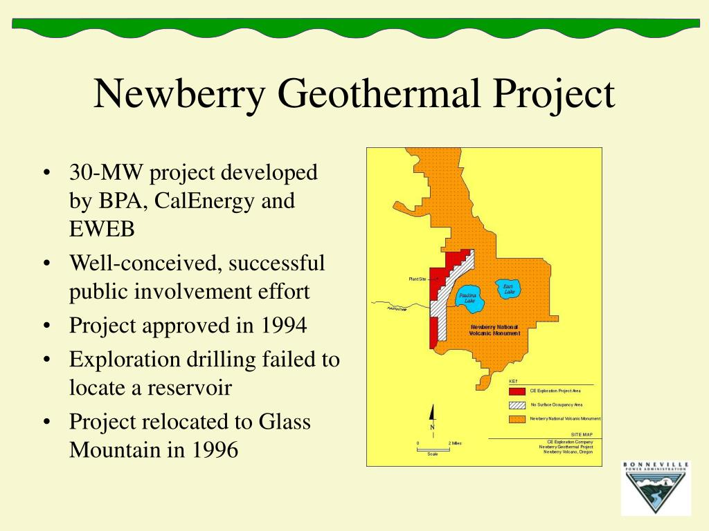 Newberry Geothermal Project