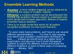ensemble learning methods13