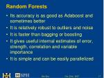 random forests17